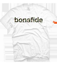 Men's Whte Bonafide Camo T Shirt